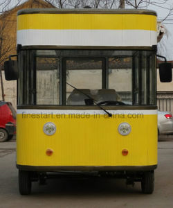 Electric Dining Car Restaurant Car with Spacious Room for Cooking Food pictures & photos