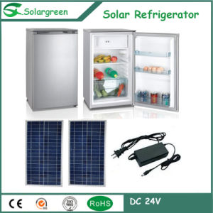 Small Sell Good Lower Noise Energy Saving Refrigarator with Solar pictures & photos