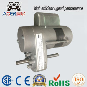 AC Single Phase Gear Reduction 1/8HP 230V Electric Motor pictures & photos