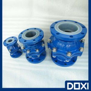 OEM Vertical Floating Ball Check Valve pictures & photos