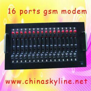 16 Port GSM Modem, for Bulk SMS/MMS Sending and Receiving, RJ45 (Q2403-16)
