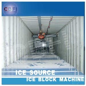 Shipping Installed SGS Certification Used Containerized Block Ice Machine pictures & photos
