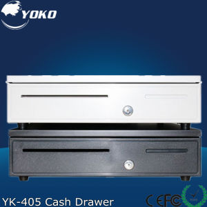 Yk-405 Good Quantity Stainless Steel Cash Drawer with 5 Coin and Bill Slots pictures & photos