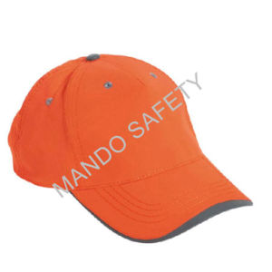 Safety Reflective 100% Polyester Fabric Custom Baseball Cap pictures & photos