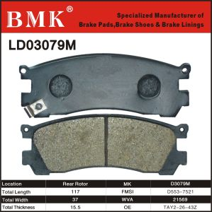 Adanced Quality Brake Pad (D3079M) pictures & photos