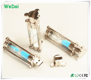 New Sand-Glass USB Flash Drive with 1 Year Warranty (WY-M87) pictures & photos