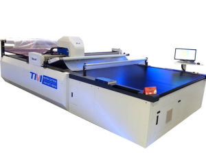 Fabric Cutting Machine for Leather Chair Material pictures & photos