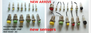 Half Sets 5mm with M18 4pin Connector Proximity Sensor Switch Without Cable