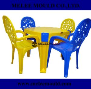 Plastic Kids Table and Chairs Set Mould pictures & photos