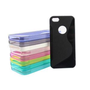 S-Line TPU Case for iPhone 5 with Logo Hole pictures & photos