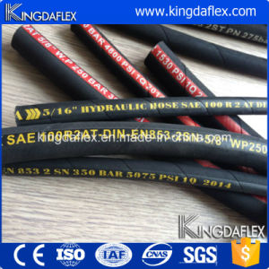 3000psi Flexible Stainless Steel Braided Oil Resistant Hydraulic Pipe pictures & photos
