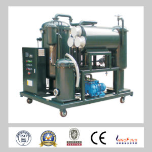 Zl-300 Lubricating Oil Vacuum Oil Purification Machine, Turbine Oil Recycling Machine pictures & photos