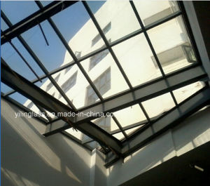 Grey Color Laminated Glass for Roof Curtain Wall Skylight pictures & photos