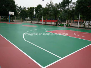 Acrylic Sport Court Solid Surface Badminton Court Surface pictures & photos