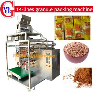 10 Lines Salt Pepper Sachet Packing Machine (450 sachet/min) pictures & photos