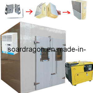 Prefabricated Generator Cold Room with Polyurethane Panels pictures & photos