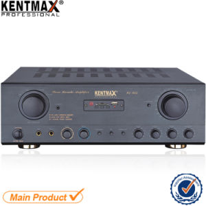 AV-602 OEM Factory Stereo Karaoke Amplifier with USB SD pictures & photos