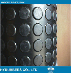 High Quality Anti-Slip Round Button, Coin Rubber Sheet pictures & photos