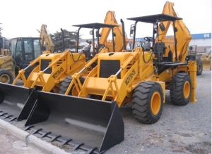 Shan Dong Yineng Wheel Loader 7 Ton Backhoe Loader Wz30-25 pictures & photos