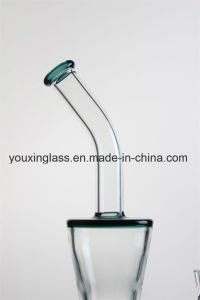 12.5′′ Glass Smoking Pipe Glass Water Pipe with Triangle Shape    and Honeycomb pictures & photos