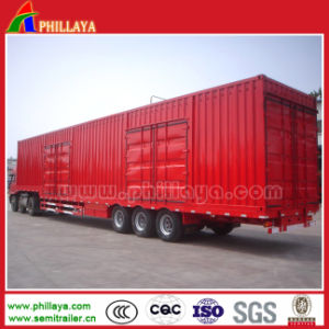 Other Voulume Optional Cargo Box Truck Semi Trailer pictures & photos