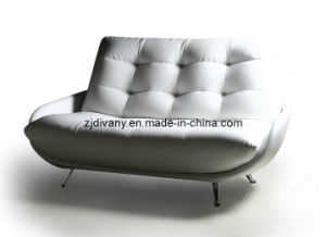 Italian Style Leather Seating Leisure Sofa Set (D-50A & B) pictures & photos