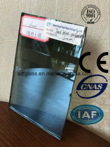 6mm Ford Blue Reflective Float Glass with Ce. ISO (4mm to 10mm) pictures & photos