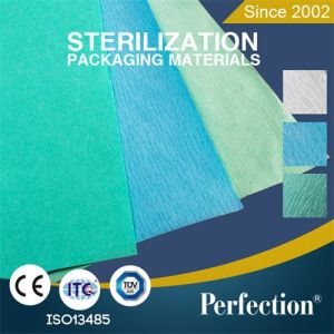 50GSM/60GSM Medical Grade Paper Sterile Wrapping Crepe Paper pictures & photos