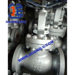 ANSI/DIN/JIS Cast Steel Pneumatic Flange Globe Stop Valve