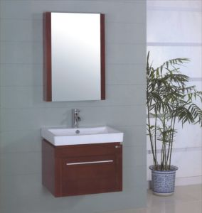 Wall Wooden Bathroom Cabinet (B-238) pictures & photos
