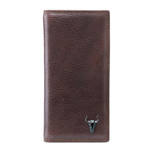 High Quality Brown Leather Wallet Purse