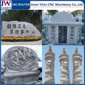 4 Independent Spindles Stone CNC Router for Marble Granite Tombstone pictures & photos