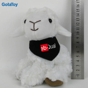 Custom Stuffed Plush Sheep Toy with Bandana pictures & photos