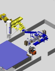 Qt12-15 Fully Automatic Production Line (open type) pictures & photos