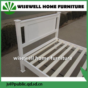 Solid Pine Wood Single Bed Home Modern Furniture (W-B-0092) pictures & photos