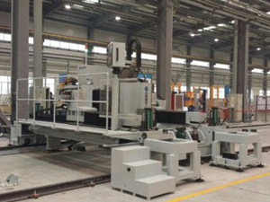 CNC Milling and Drilling Machine for Railway Vehicle Groundbed Moedl Klm3010 pictures & photos