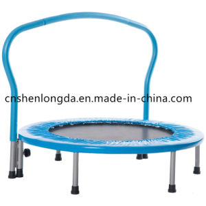 "36"" Kid′s Mini Exercise Trampoline with Handrail pictures & photos"