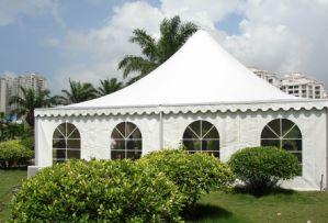 Manufactures Heavy Duty Gazebo PVC White Fabric Gazebo Wedding Tent pictures & photos