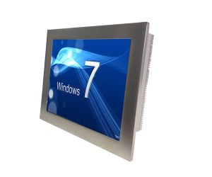 17′′ Fanless touch Panel PC with Atom D525 Dual Core CPU pictures & photos
