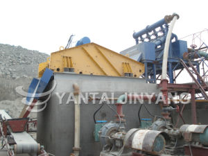 Dry Stacking of Tailings Process-Hydrocyclone and Vibrating Screen