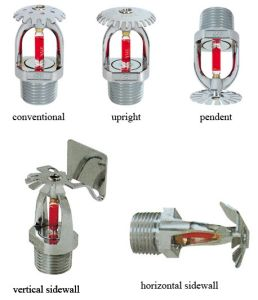 High Quality Pendent Standard Response Fire Sprinkler pictures & photos