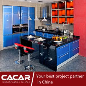 Bolahm Fresh Color Fashion Stoving Varnish Lacquer Kitchen Cabinet (CA09-15) pictures & photos