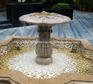 Stone Water Fountain for Garden Outdoor (YKOF-42)