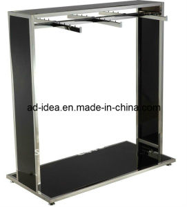 Stainless Steel Gondola for Clothes / Stainless Steel Garment Display Rack pictures & photos