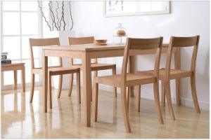European Style Oak Wood Dining Table with Good Price (M-X1096) pictures & photos