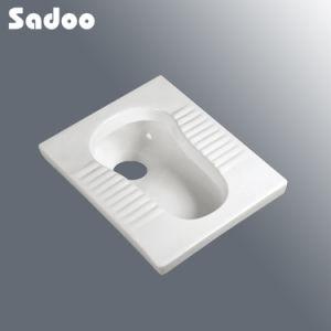 Square Ceramic Squatting Pan SD-D803