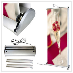 Standing Scrolling Roll up Banner Stand (DW-LD11) pictures & photos