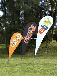 Event Printed Customed Size Outdoor Beach Banner Flying Banner Teardrop Banner Feather Banner pictures & photos