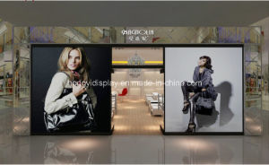 Shopfront Display with Wooden Veneer, Window Display pictures & photos