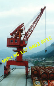 30t30m Railway Mobile Hydraulic Electric Harbour Portal Crane pictures & photos